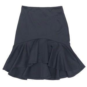 Forever 21   High-Low Skirt   Navy